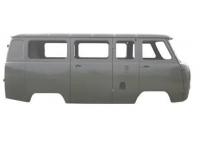 Каркас кузова (микроавтобус) карб/инж под щиток приборов Евро-4, крепление н/о защитный