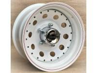 Диск колес Р15 УАЗ IKON SNC029 8х15 5х139.7 D110.5 ET-16 черный