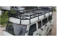 Багажник Викинг на УАЗ 452, 16 опор, 2-х секционный