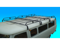 Багажник на УАЗ 452 трехсекционный (12 опор)
