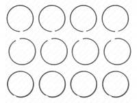 Кольца поршневые 96,5 Оригинальные з/ч,широкие (040500100010012BR) (405-00-4640000-02)